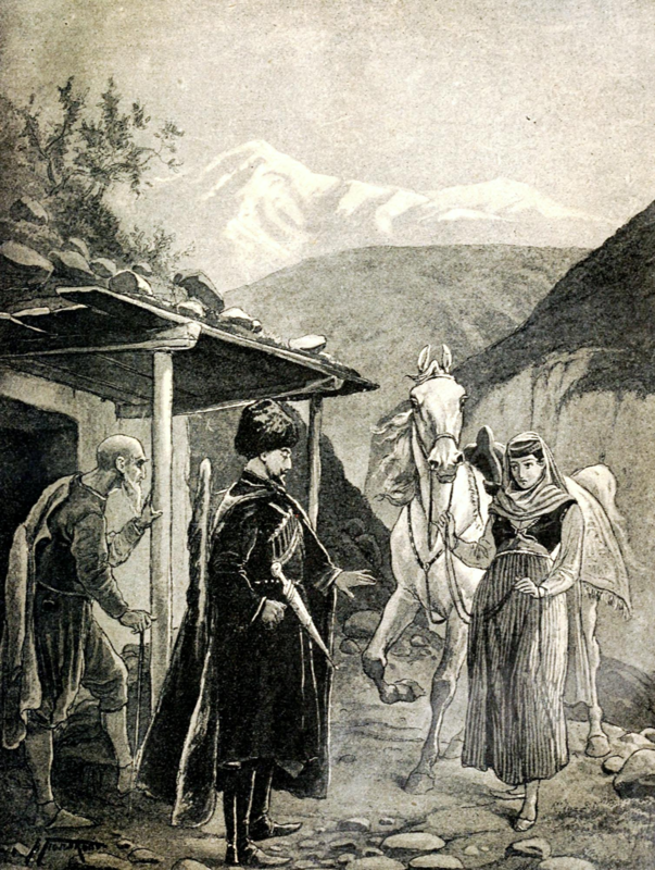Художник В.А.Поляков. Измаил Бей