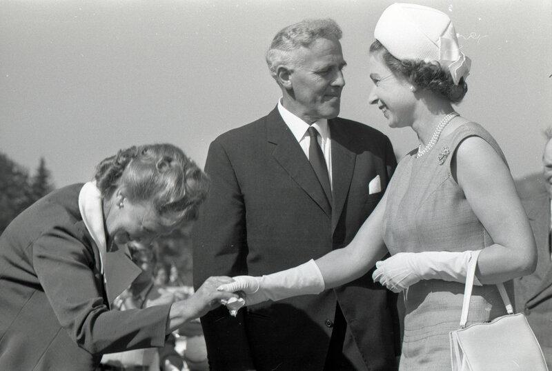 Dronning Elisabeth II besøker Norge i august 1969