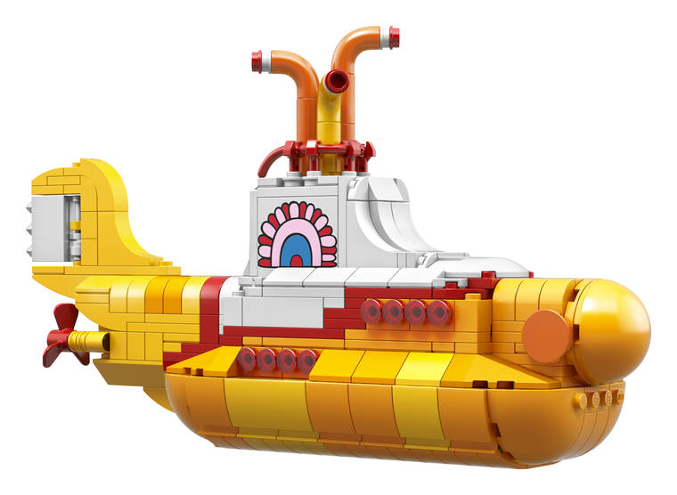 LEGO Yellow Submarine - The Beatles are now available as LEGO minifigs