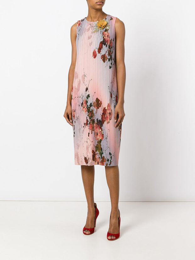 ANTONIO MARRAS floral print straight dress