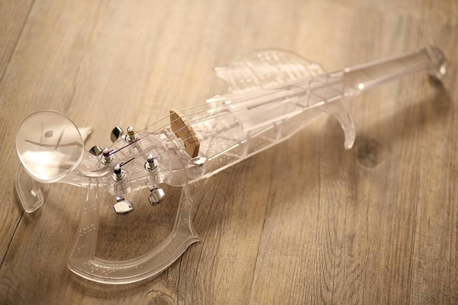 Playable 3D Printed Violin (9 pics)