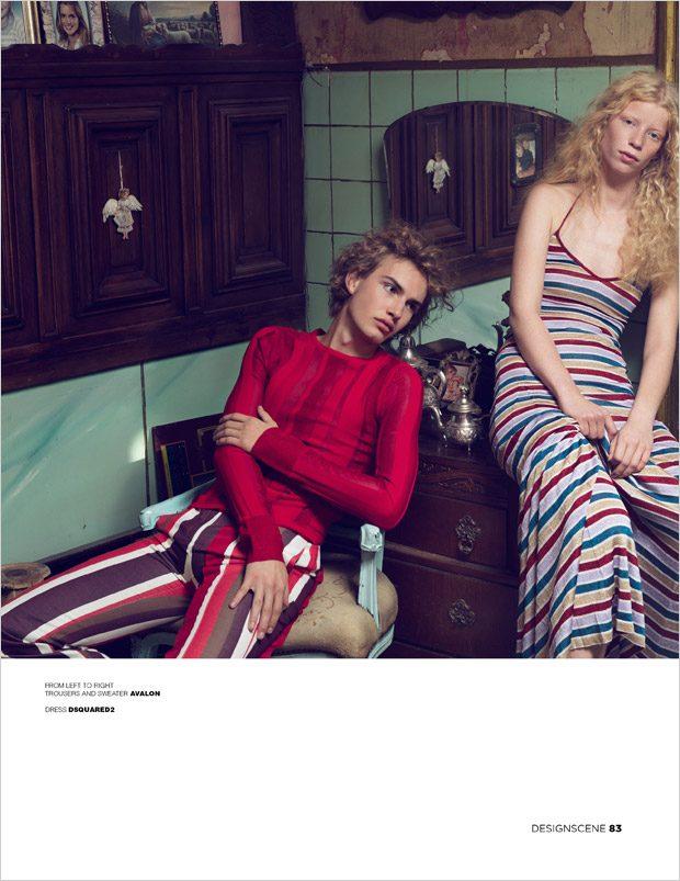 Lotte & Sebas Visit Lonelyville Hotel for Design SCENE Magazine