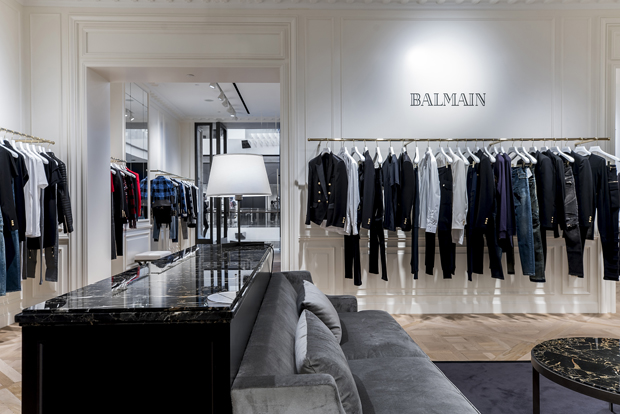 BALMAIN'S FIRST STORE IN SOUTHEAST ASIA