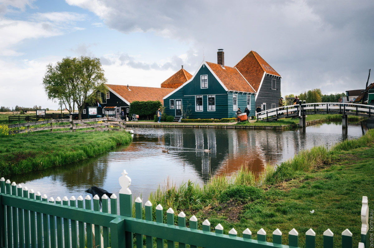 Музей под открытым небом Заансе Сханс, Нидерланды