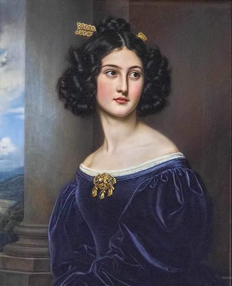 Portrait of Nanette Heine nee Kaula, 1829.jpg
