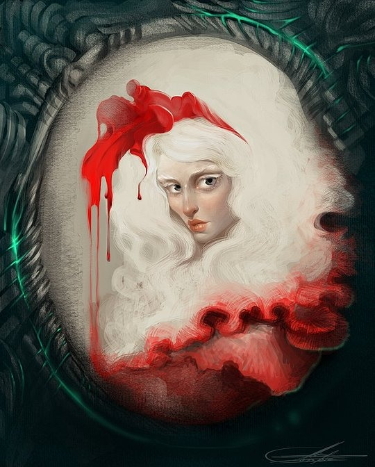 Beautiful Digital Illustrations by Alis Zombie