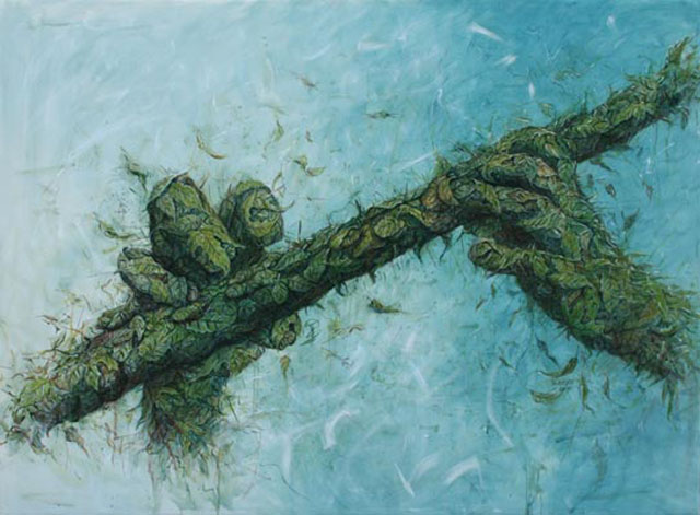 Alexi Torres - Woven Leaves And Organic Materials