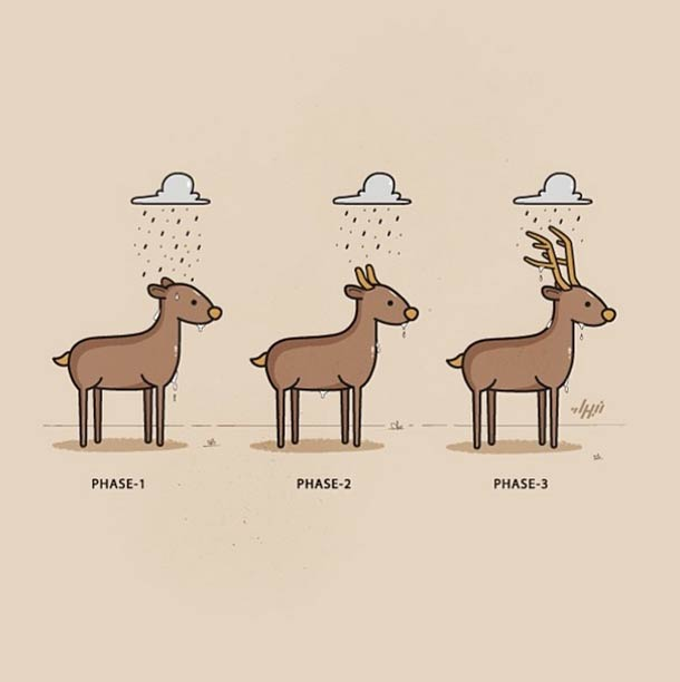 High Five - 35 adorables doodles de Nabhan Abdullatif
