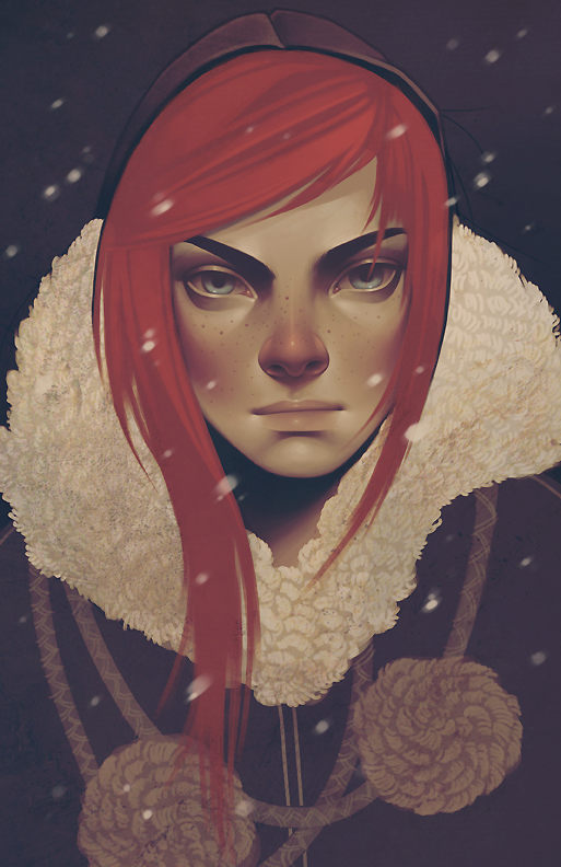 Portrait Illustrations by Kelsey Beckett