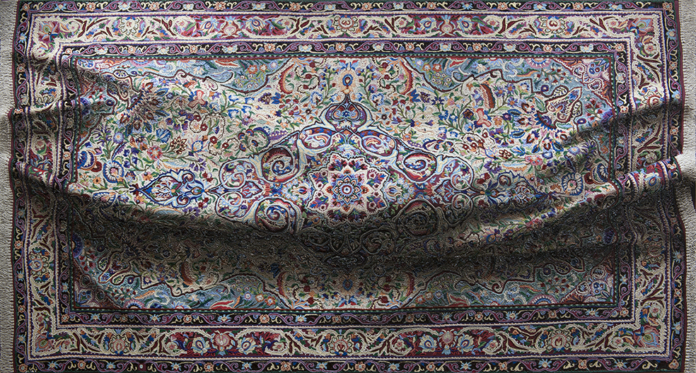 Amazing Trompe L'Oeil of Painted Rugs