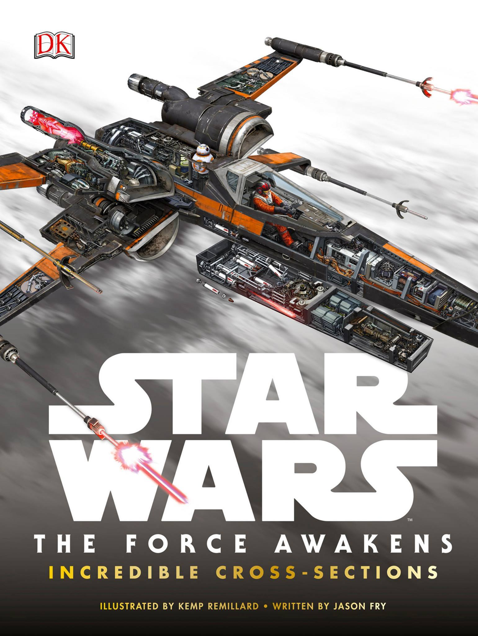 Star Wars: The Force Awakens Incredible Cross-Sections (7 pics)
