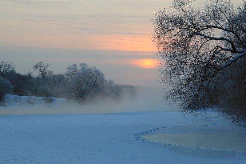 Холодное февральское утро