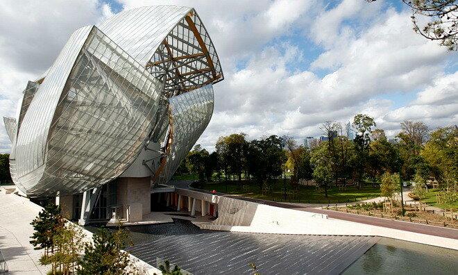 Центр современного искусства Луи Виттона. Париж