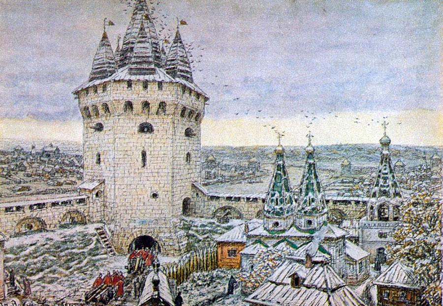 Семиверхая угловая башня Белого города.jpg