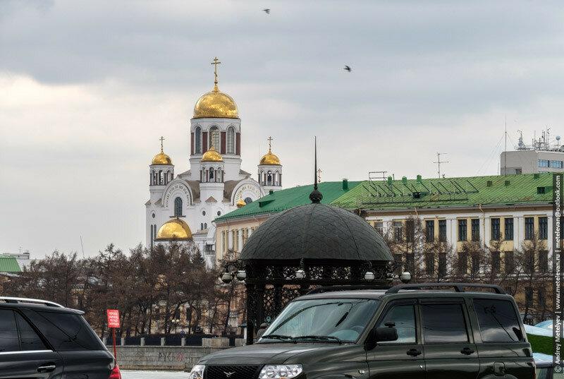 спас на Крови, вид с улицы Ленина