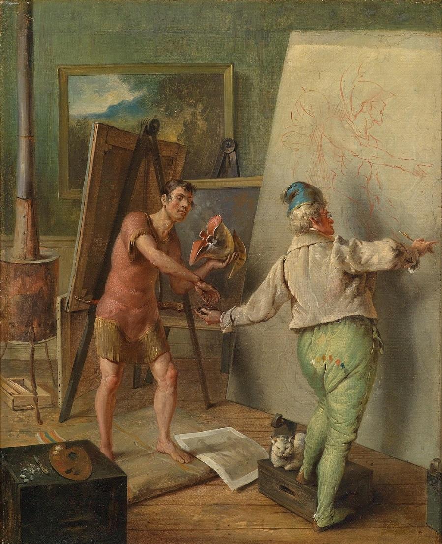 In the Painter's Studio.jpg