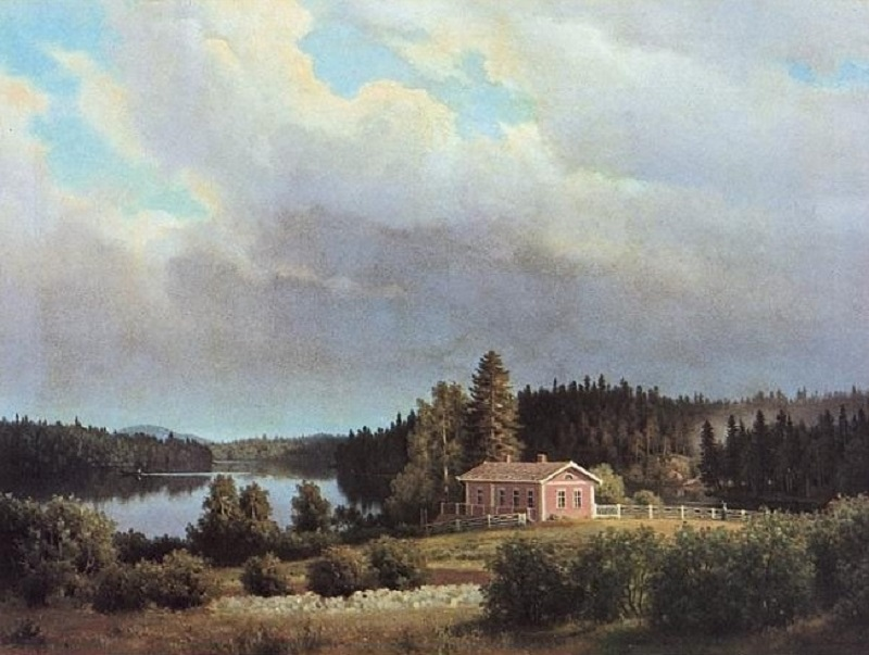 View from Lugnet (1877)