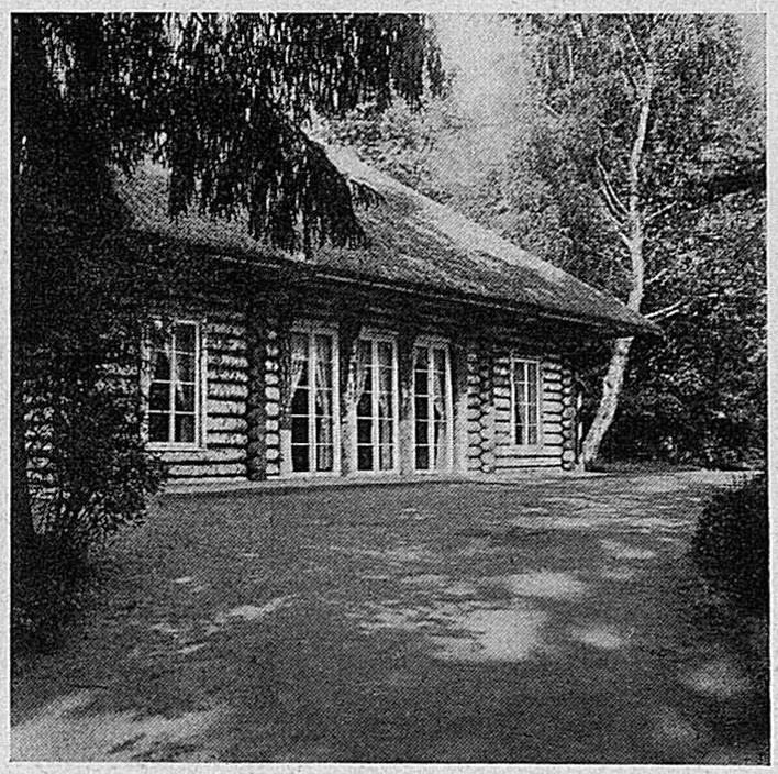 Берёзовый домик