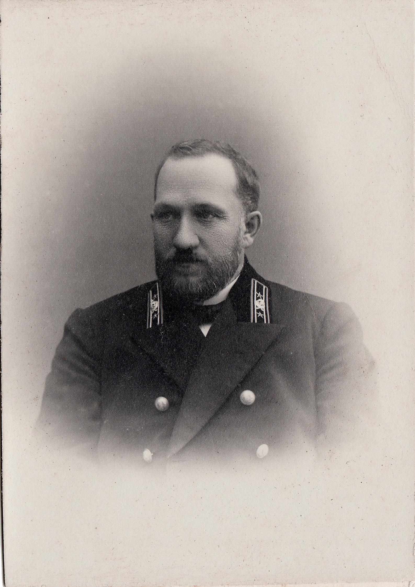 Магницкий Иван Ефимович, не имеющий чина – помощник инспектора