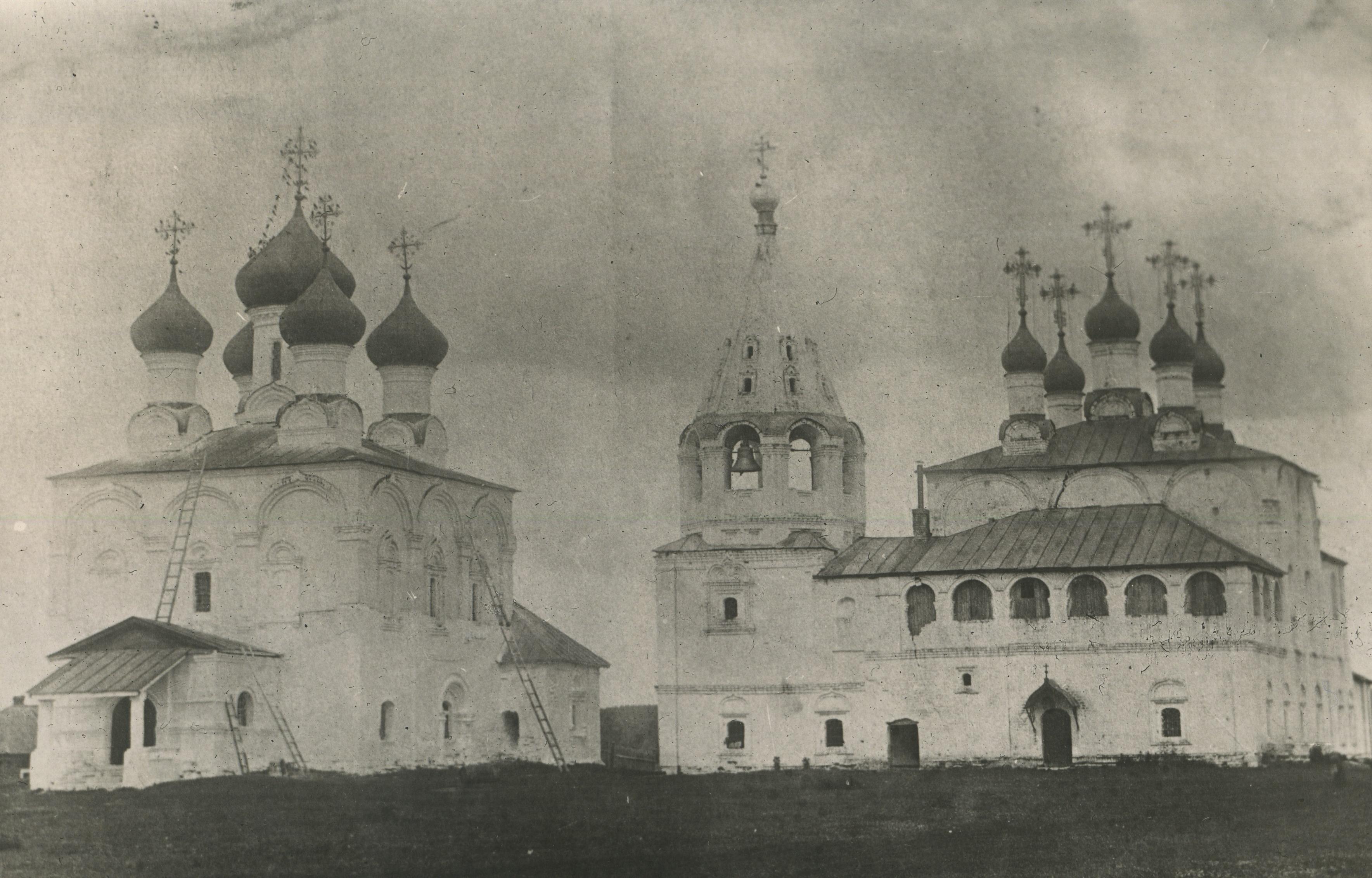 Окрестности Мурома. Монастырь в селе Борис-Глеб. 1890 – 1900
