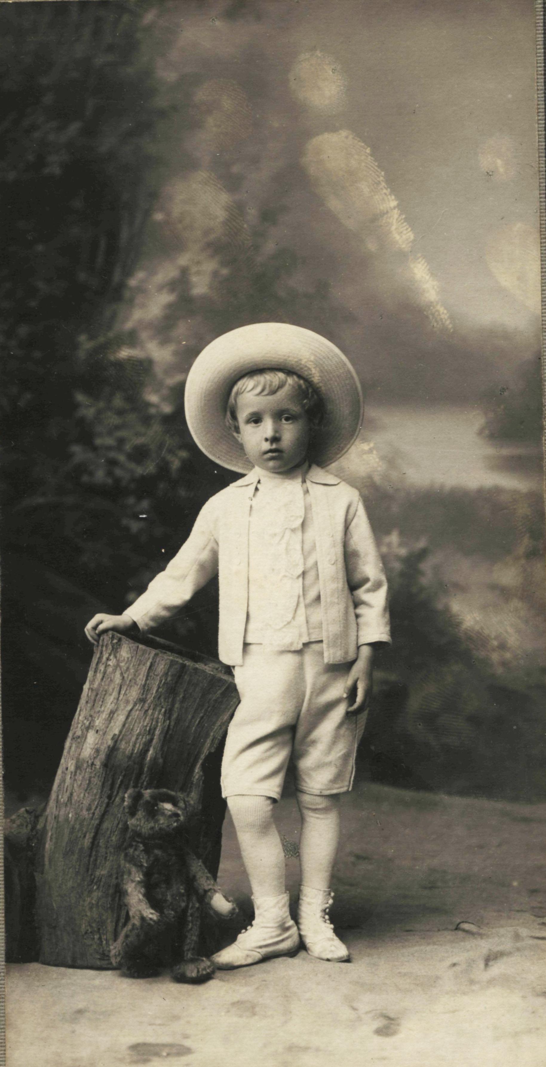 Портрет мальчика Вани Сокольского. 1910-1912