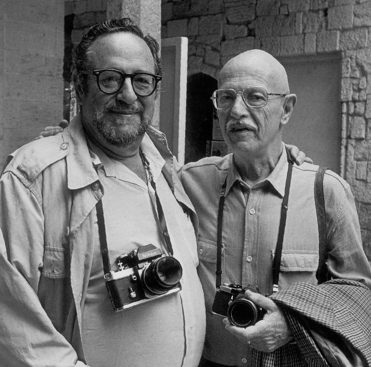 1985. Арнольд Ньюман и Вилли Рони. Арль