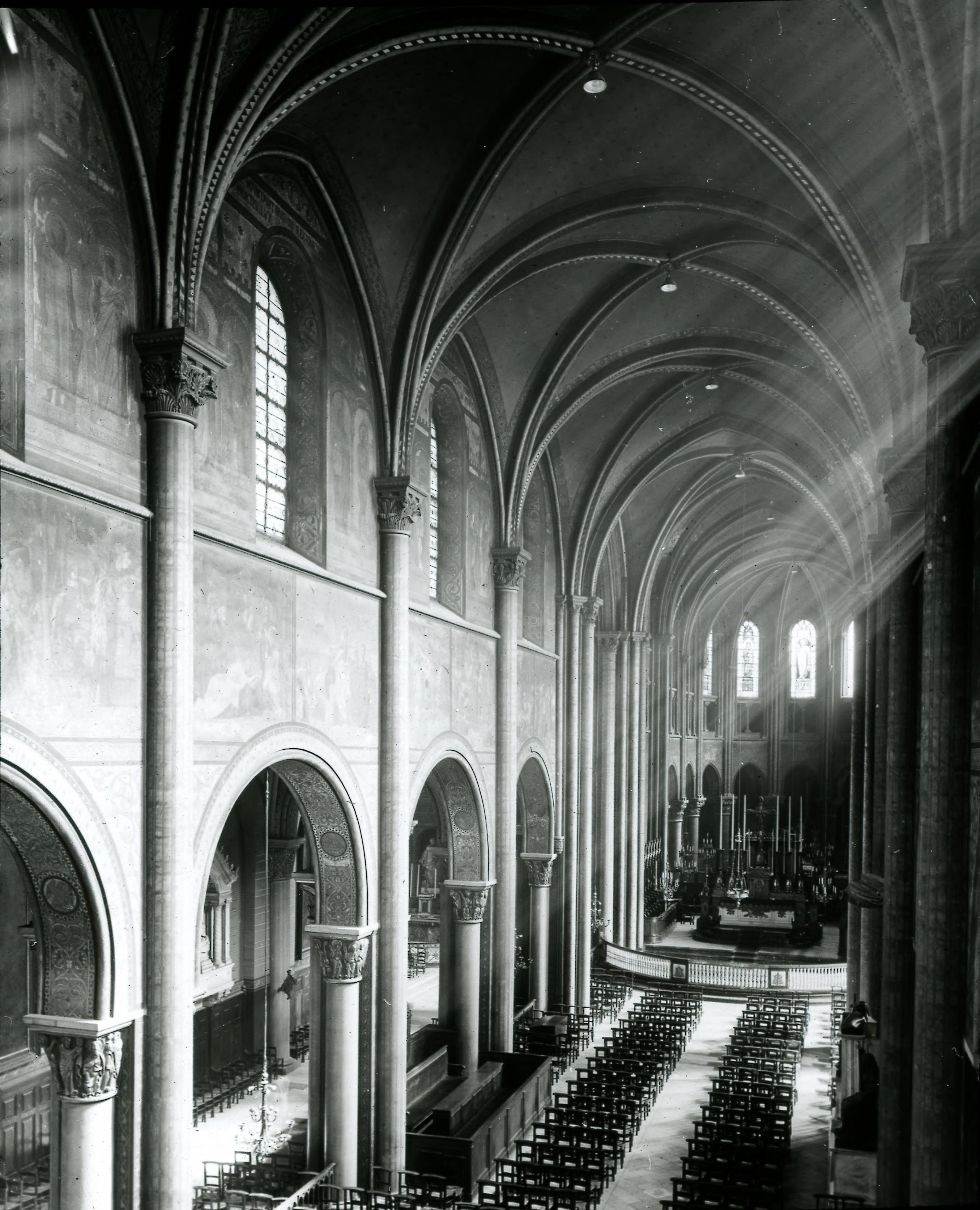 Сен-Жермен-де-Пре. 990-1163