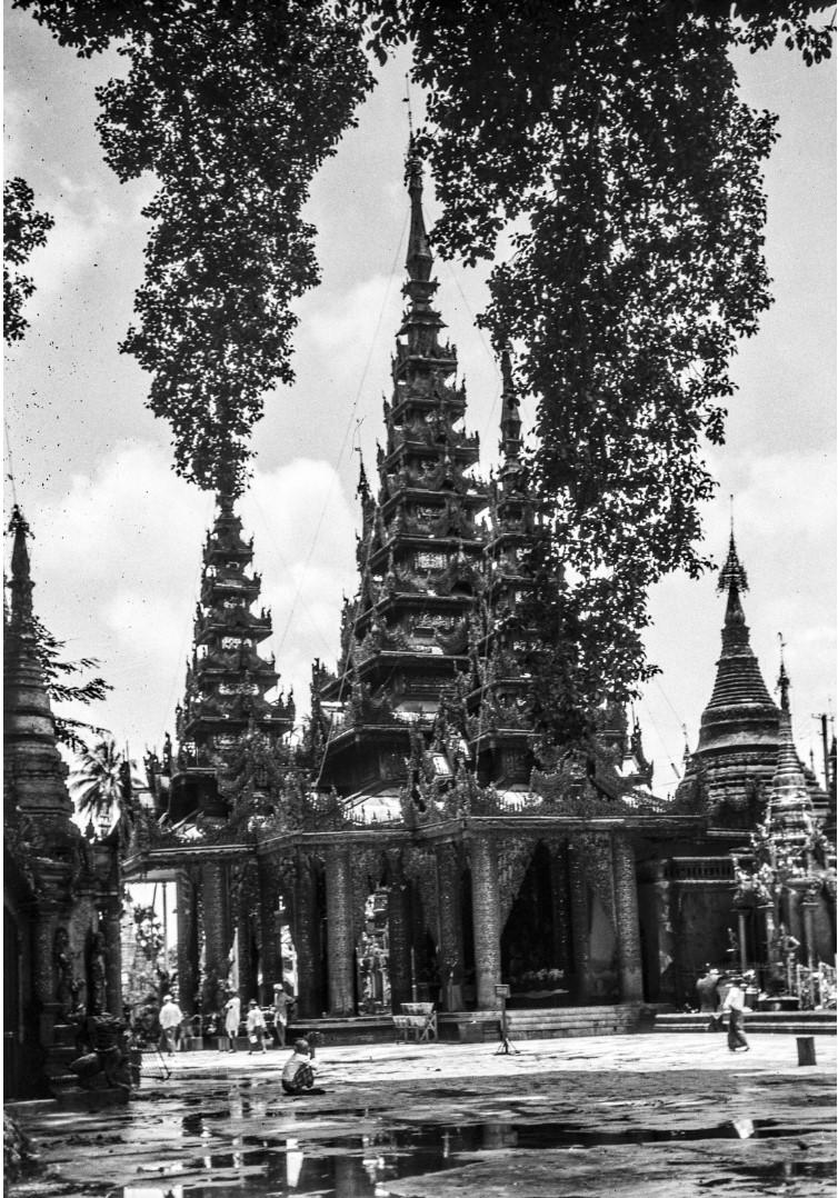 831. Рангун. Пагода Шведагон