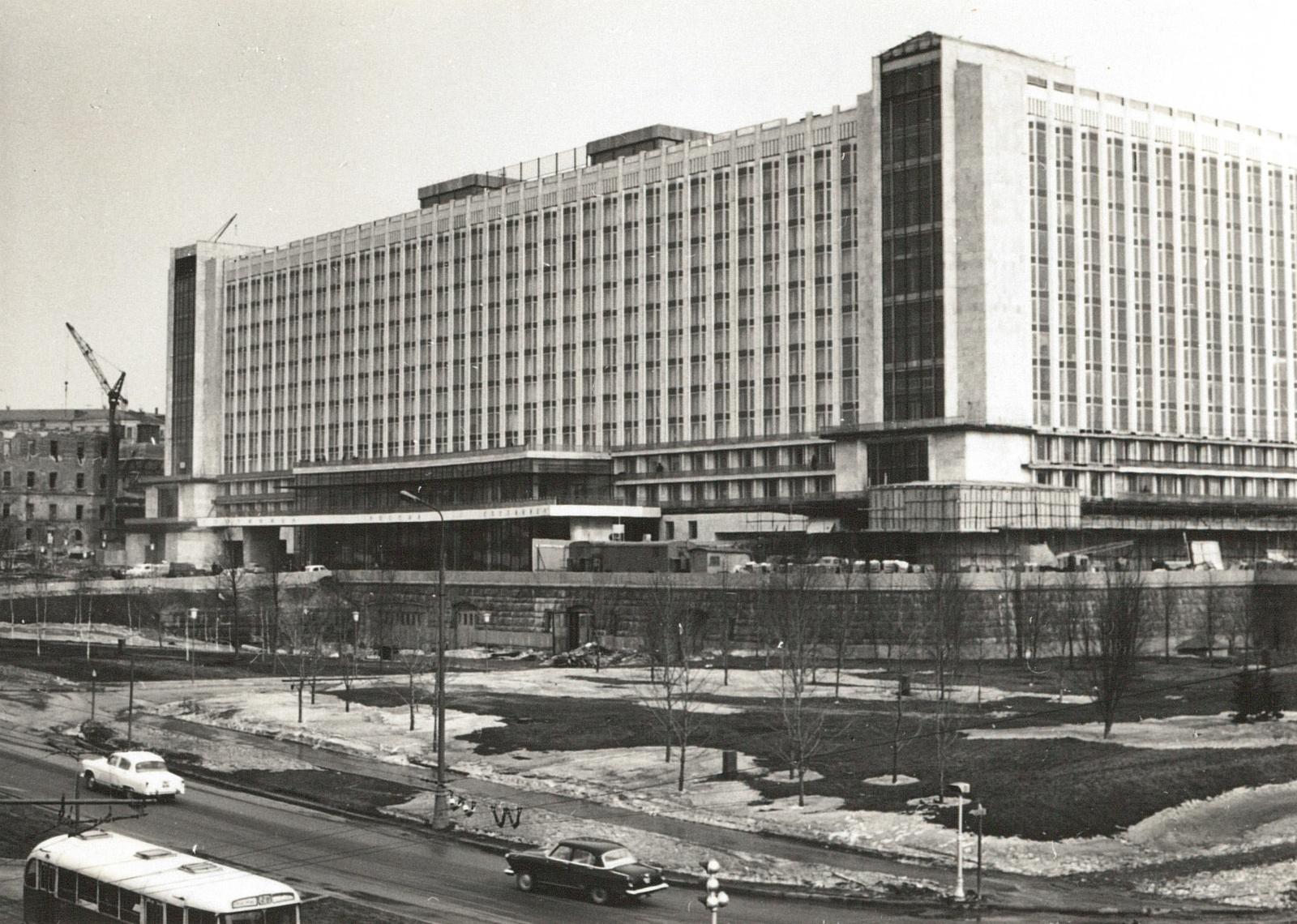Москва. Гостиница Россия. 1967