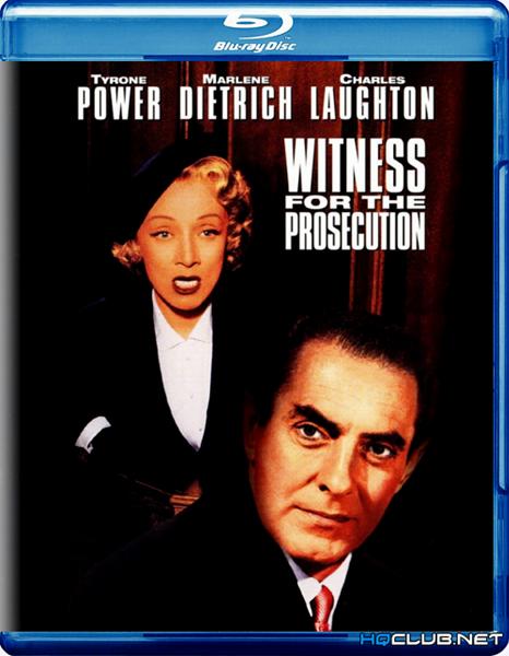 Свидетель обвинения / Witness for the Prosecution (1957/HDRip)