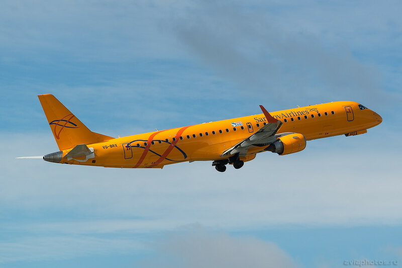 Embraer 190-200IGW (VQ-BRX) Saratov Airlines 027_D801070