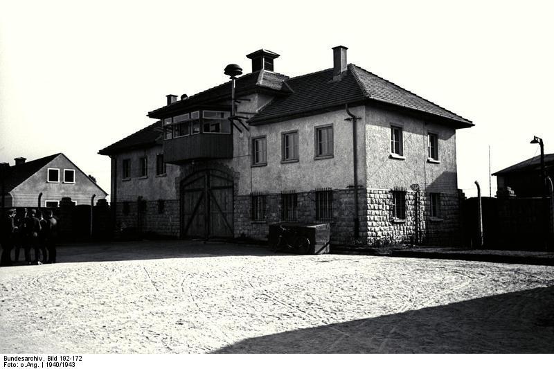 Что происходило при освобождении концлагерей. Австрия 1945 г. KZ Mauthausen, Jour-Haus Lager Gusen