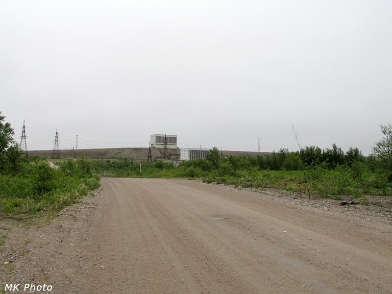 Плотина Нижнесеребрянской ГЭС