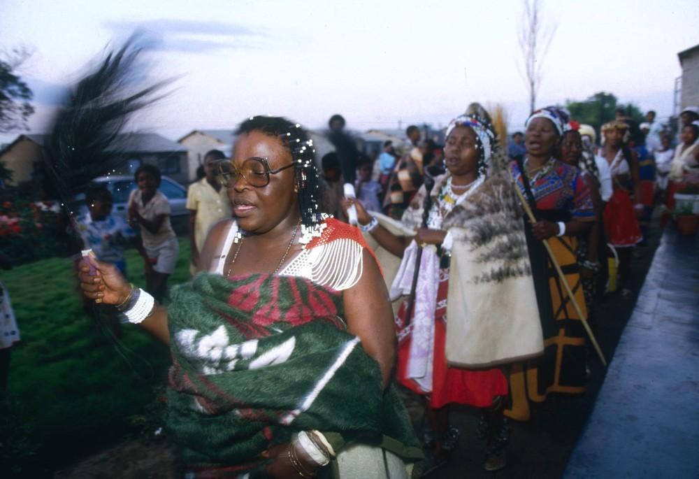 Колдуны сангома из Южной Африки