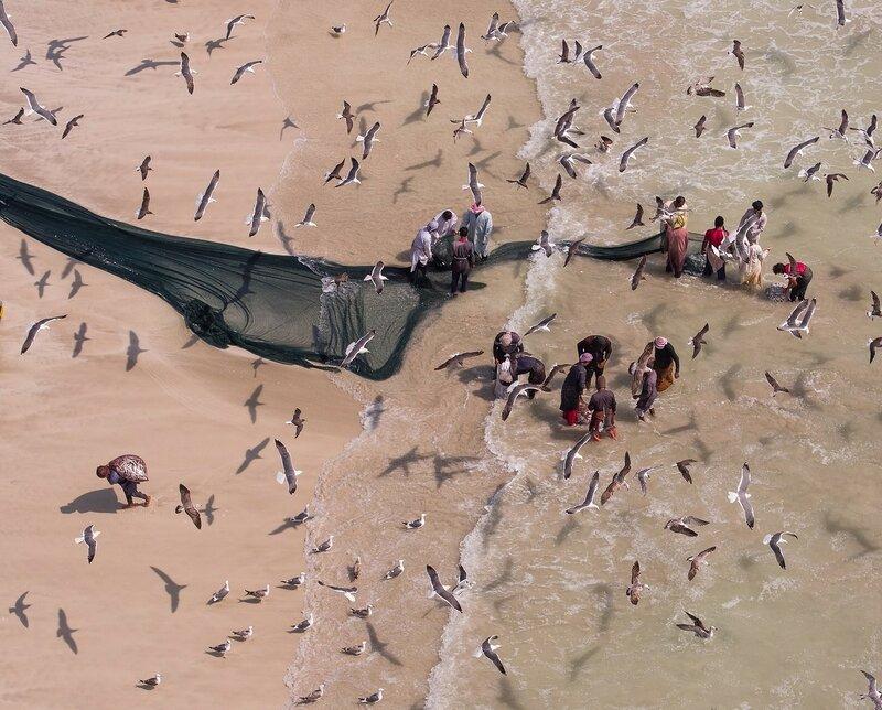 Колоритные снимки рыбаков Омана