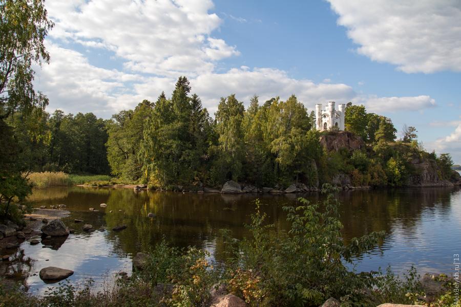alexbelykh.ru, парк Монрепо, остров мертвых в Монрепо, остров Людвигштайн