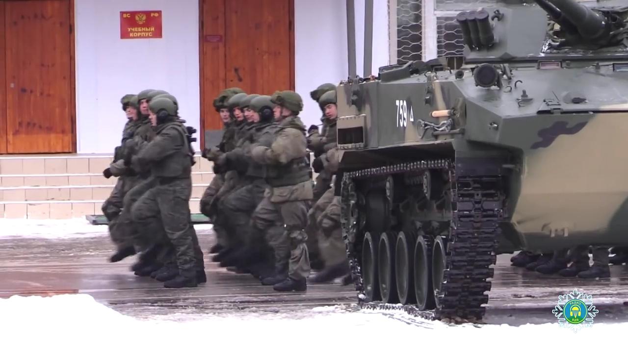 БМД-4М в 137-м гвардейском парашютно-десантном полку в Рязани
