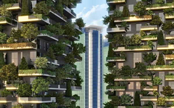 Вертикальный лес, новости архитектуры