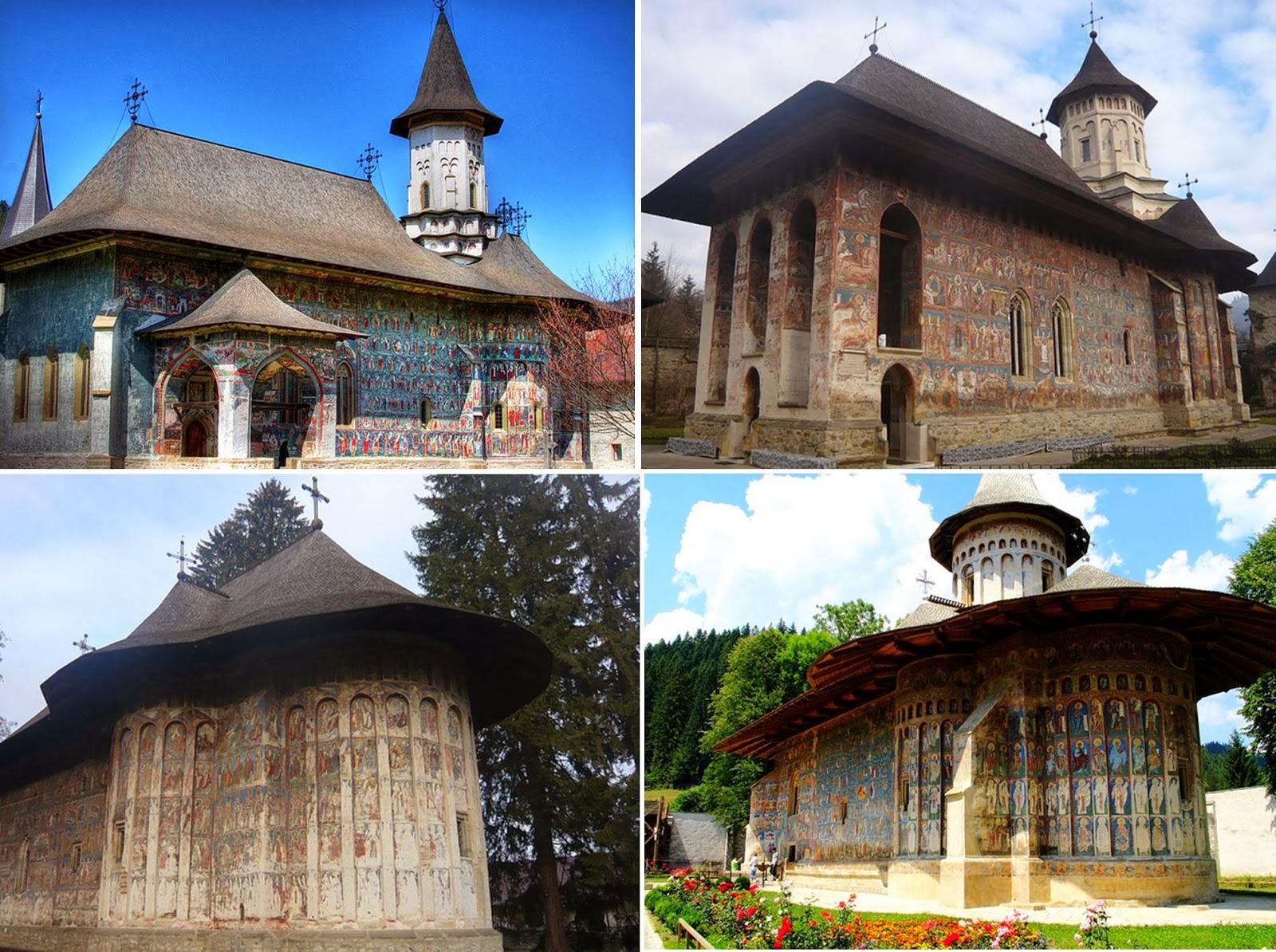 Несмотря на свой статус объектов культурного наследия ЮНЕСКО, румынские расписные монастыри мало изв