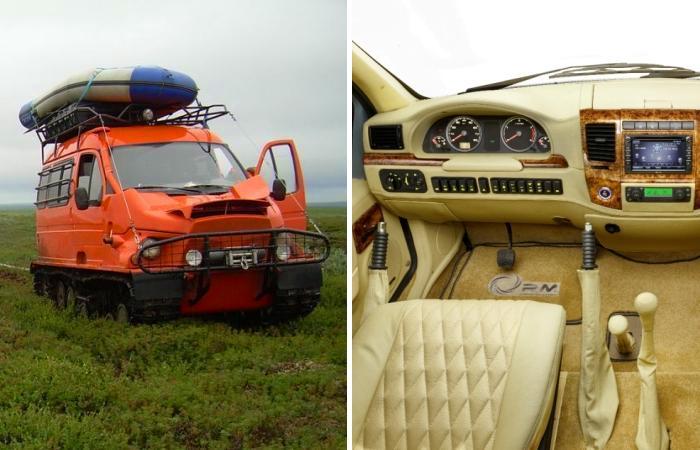 «Газель»-вездеход: как популярный фургон стал идеальной машиной для охотников и рыболовов
