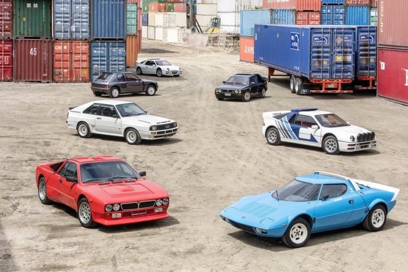 """Коллекцию из раллийных автомобилей """"группы Б"""" выставят на торги (47 фото)"""