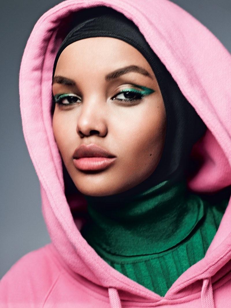 Халима Аден в Allure Magazine