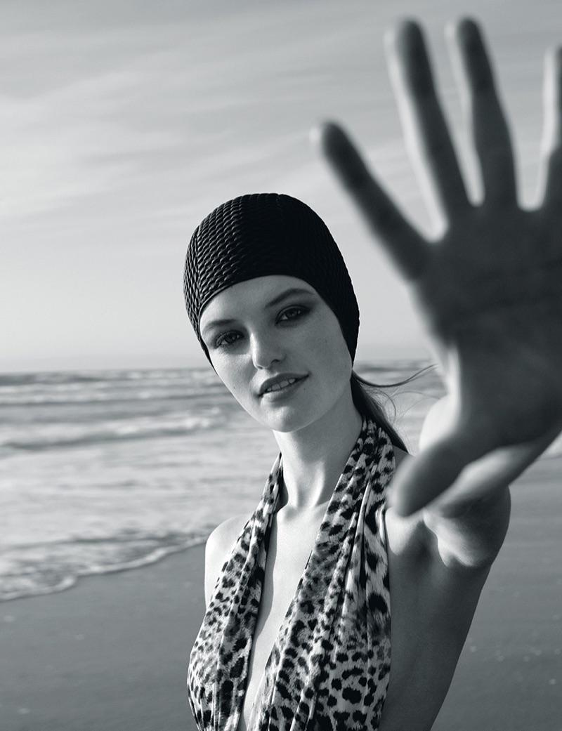 Уиллоу Хэнд для украинского Vogue
