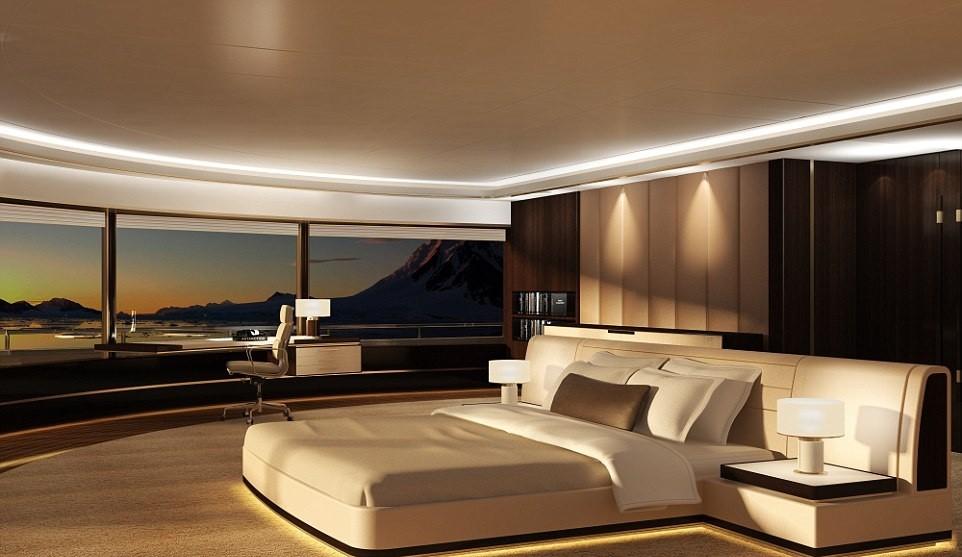 10. Уникальная спальня.