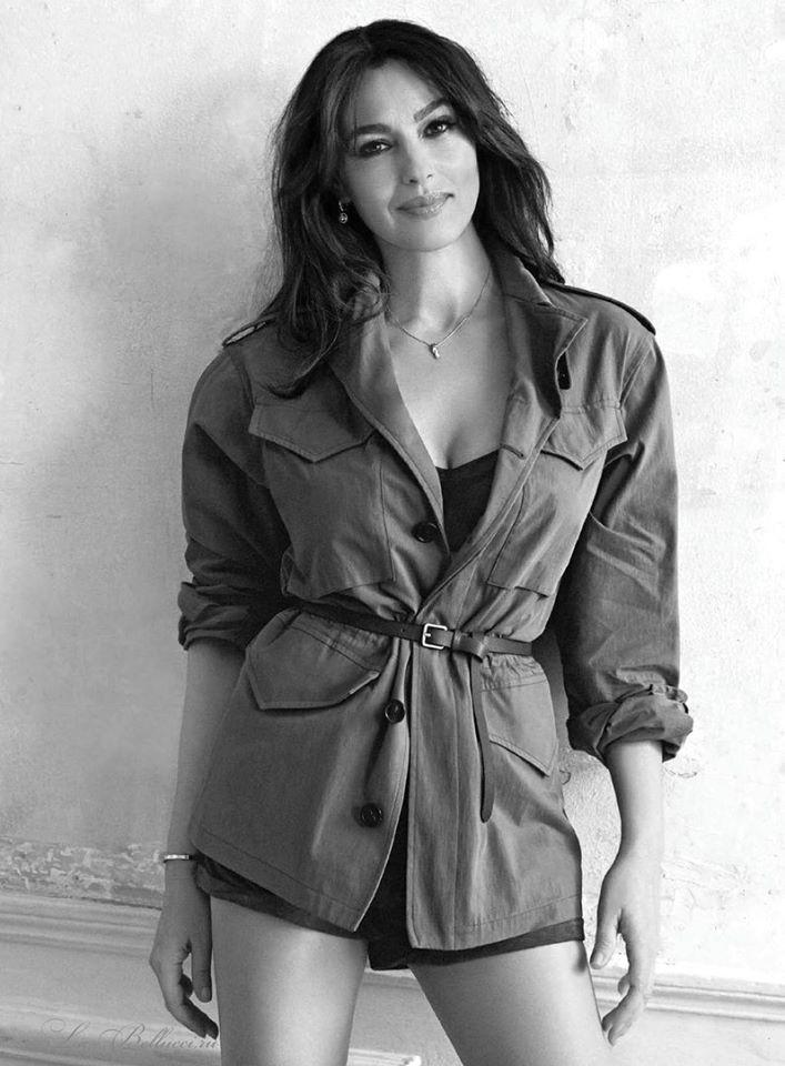 Моника Беллуччи для французского Elle