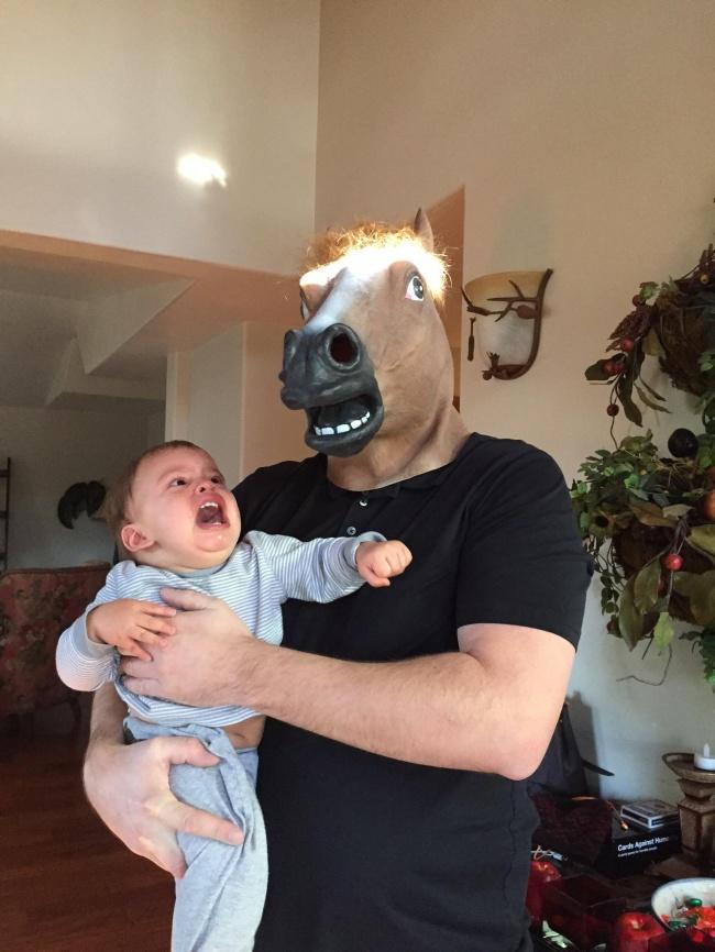 © reddit  Кажется, найден способ непотерять ребенка вмагазине