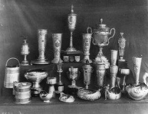 Призы клуба - кубок и чаши различной  формы