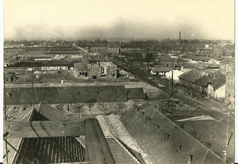 Здания и бараки концлагеря Освенцим (Аушвиц 1)