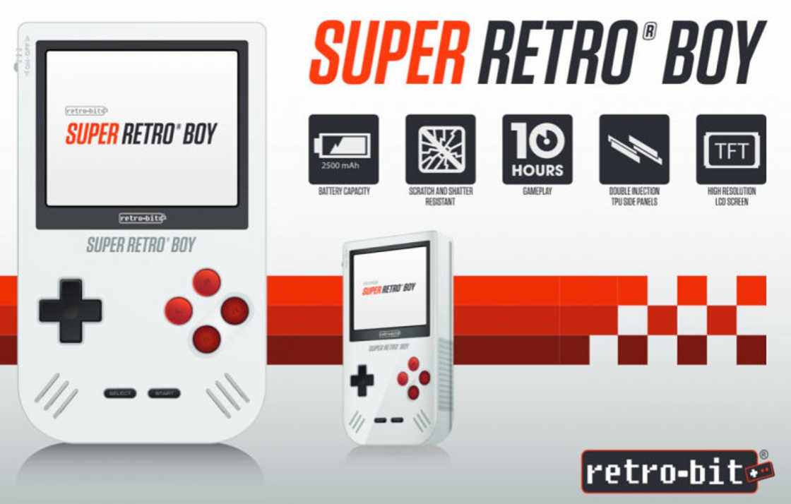 The Game Boy is back with the Super Retro Boy!