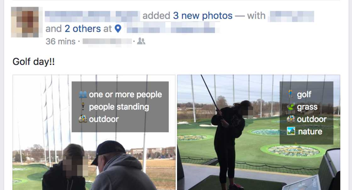 Facebook sees everything - This add-on reveals what Facebook sees in your photos